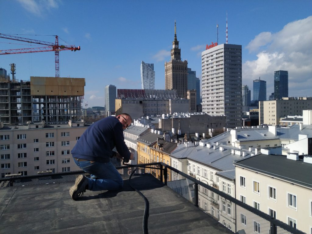 montaż radiolinii Warszawa